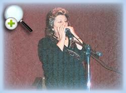 Jackie Harmony sur scène